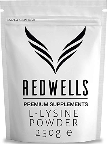 REDWELLS 1kg Pure L-lisina Hcl Powder Sin aditivos de Aminoácidos