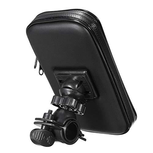 WXCymhy Fiets En Motorfiets Stuur Installatie Box 5 Inch GPS Waterdichte Mobiele Telefoon Houder Motorfiets vervangbare onderdelen Auto vervangingsonderdelen