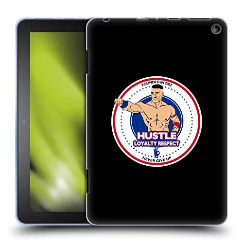 Head Case Designs Officially Licensed WWE HLR Fist John Cena Soft Gel Case Compatible with Amazon Fire HD 8 (2020)