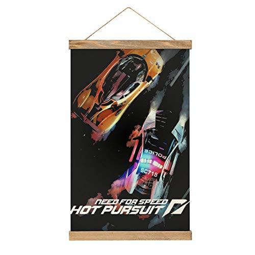 WPQL Need for Speed Hot Pursuit carteles decorativos para sala de estar, oficina, dormitorio, hotel, tamaño único