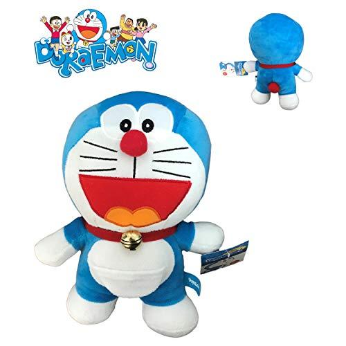 Doraemon Felpa Peluche Gato Robot Quien ríe Boca Abierta 20cm - Original y Oficial