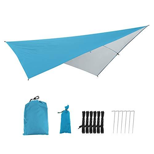 Sun Shade Sail Canopy Multifunctional Camping Picnic Outdoor Canopy Sun Shade Sail Garden Shade Sun Protection Canopy UV Block Waterproof for Deck Patio Pergola Backyard Outdoor
