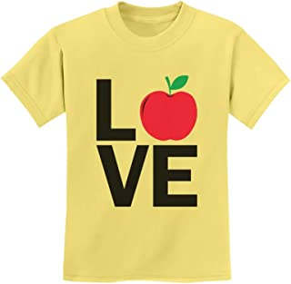 Tstars - 1st Day of School Back to School Love School Youth Kids T-Shirt