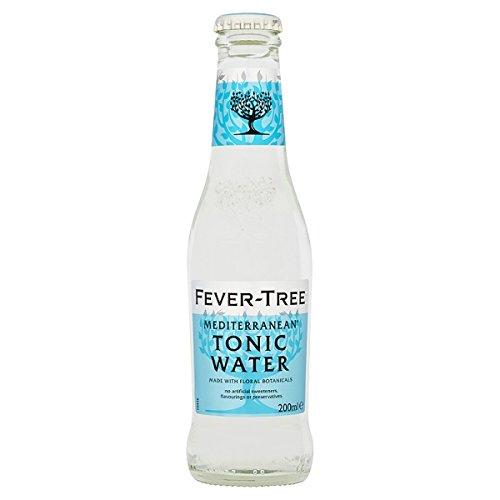 Fever-Tree-Mittelmeer-Tonic Water 200ml (Packung mit 24 x 200 ml)