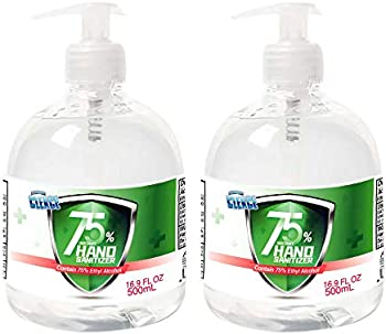 2-Pack Cleace Advanced 75% Alcohol Sanitizer Gel