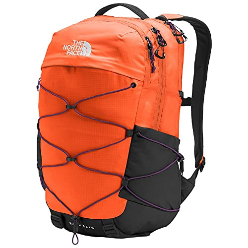 The North Face Borealis Backpack Red Orange/Gravity Purple