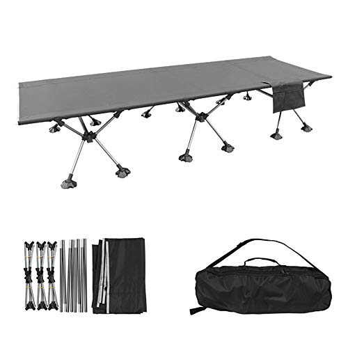 BSFYUK Camping Portable Lit Pliant, Full Size 75\
