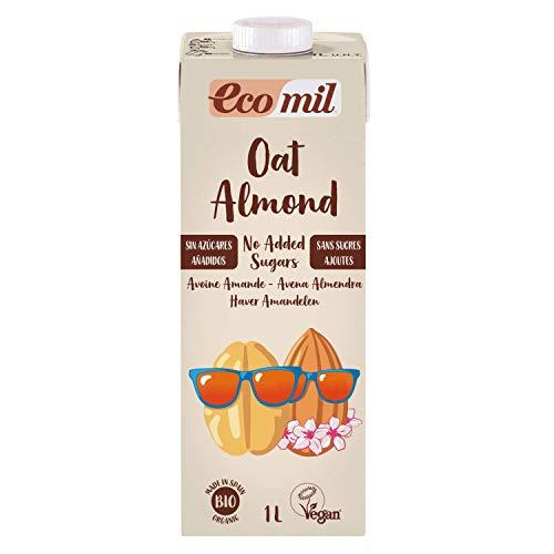 NUTRIOPS ECOMIL Oat-Almond No Added Sugars Bio 1 l, Standard, Einzigartig