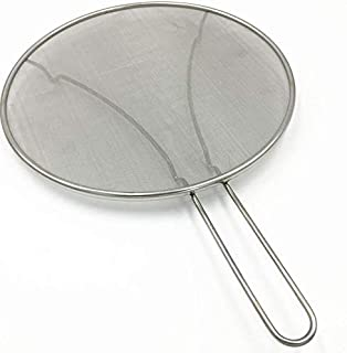 Lanbter Durable Stainless Steel Splatter Guard Screen Oil Protector Cover For Pan Specialty Tools & Gadgets