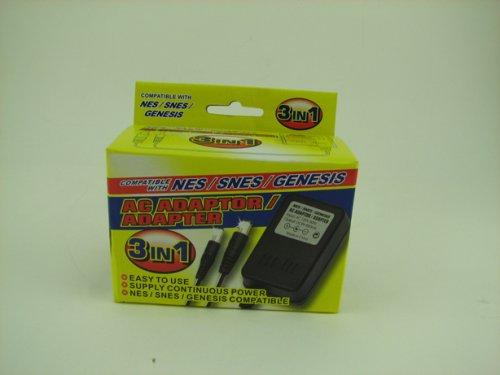 NES/SNES/GENESIS 3 IN 1 AC ADAPTER [Nintendo NES]