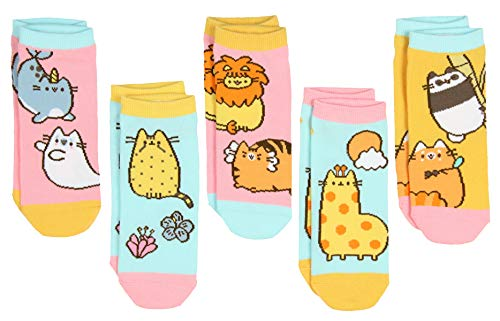 Pusheen The Cat Pusheenimals 5 Pair Women's Ankle Socks