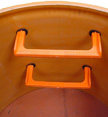 Pate Sugar - Steigbügel Polypropylen für gruben inspektion, Reservoirs, Kläranlagen, Schächte, Behälter und engen Räumen (INOX) (10)
