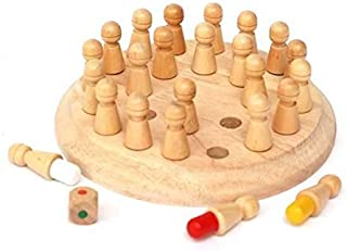 Wooden Memory Chess Games Educational Training Toy For Kids xzj