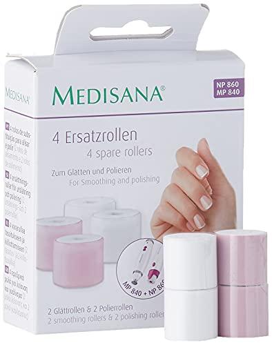 Medisana NP 860 Schleifaufsätze - Ersatzaufsätze für elektrischen Nagelpolierer