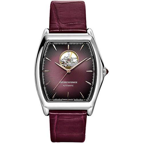 Emporio Armani Swiss - Reloj mecánico para hombre, moderno, cód. ARS3356