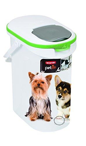 Curver 03904-P70-00 Pet-Futter Container 4 kg, 19.2 x 29.5 x 34.8 cm, 10 L - 5