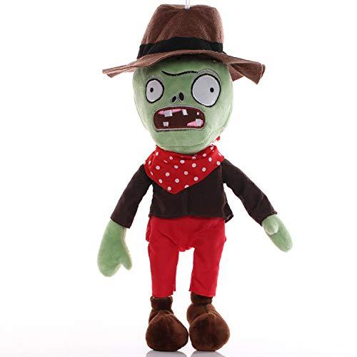 Zombie Plüsch Single New Plants vs. Zombies Plüschtier Puppenmaschine Ice Pea Shooter Stoff Eisen Eimer Puppe Puppe Pirat
