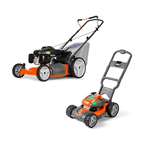 Husqvarna 7021P 160cc 21 Inch Walk Behind Push Mower and Toy Lawn Mower for Kids