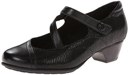 Aravon Women's Portia - AR Dress Pump,Black Multi,8.5 D US