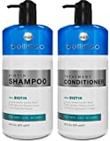 Biotin Shampoo and Conditioner Set for Hair Growth | Thickening Anti Hair Loss Shampoo Treatment | Regrowth Shampoo &...