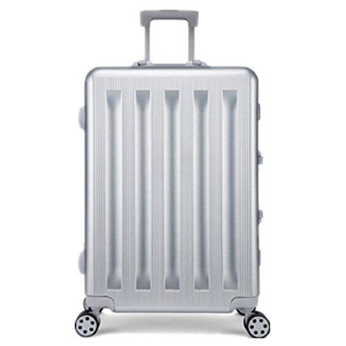 YHDD Chasis de Aluminio Tracer Tracer Trackets, Sand Hand Handets, 4 Wheel Trackets, para Viajes, Negocios, Laptop 20/24 (Tamaño : 20)