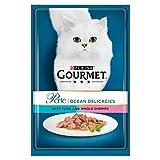 <span class='highlight'>Purina</span> Gourmet Perle Wet Cat Food Mini Fillets in Gravy Ocean Delicacies, 85 g x <span class='highlight'>24</span>