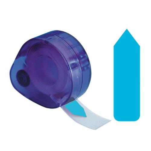 Etiquetas adhesivas redi-tag, extraíbles, autoadhesivas, 1,27 x 4,57 cm, color azul, 120 unidades