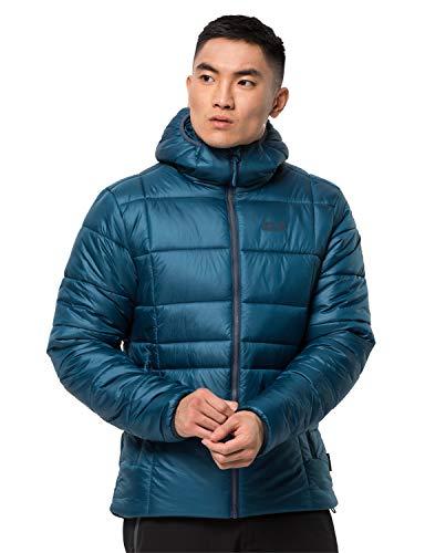 Jack Wolfskin Herren Argon THERMIC Jacket M Steppjacke, Dark Cobalt, S