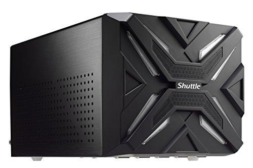 Shuttle XPC cube SZ270R9 Gaming Mini PC Barebone - Barebón (DIMM, 64 GB, 2133,2400 MHz, DDR4-SDRAM, Dual, 1.2 V)