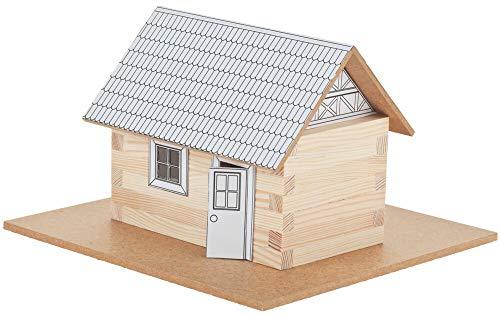 matches21 - Juego de construcción de madera para casa con piezas prefabricadas, juego de manualidades, para niños a partir de 8 años