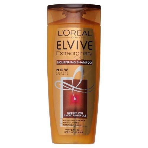 L'Oréal Paris Shampooing à l'huile pour cheveux très secs, 250 ml