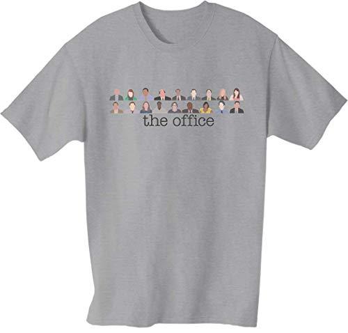 Sconosciuto The Office US Cast T-Shirt da Uomo Large