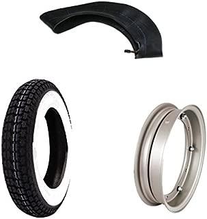 Mim Distribution Kit Neumático 3.5010Banda Blanca aro y filtro de aire