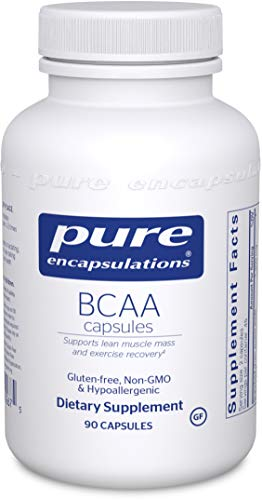 Pure Encapsulations - BCAA Capsules - Hypoallergenic Supplement to Support Muscle Function During Exercise* - 90 Capsules