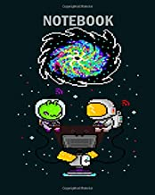 Notebook: quotes from elon musk on travelling to mars - 50 sheets, 100 pages - 8 x 10 inches