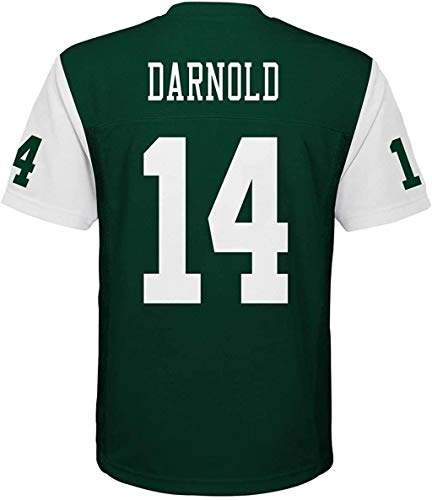 Outerstuff Sam Darnold New York Jets #14 Green Youth Home Mid Tier Jersey (X-Large 18/20)