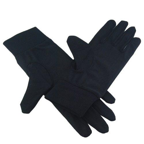 Jambo Women's 100% Pure Silk Gloves Thermal Liner Glove Inner Ski Bike Cycle Gloves S