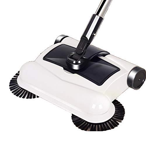 CROW Barredora Manual, Escoba automática, 3 en 1 para Limpieza doméstica, Escoba...