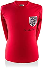 Icons.com Sir Bobby Charlton Front Signed England 1966 Shirt