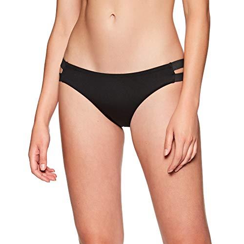 Nike Damen Bikini Bonded Strappy Bikin XL Schwarz