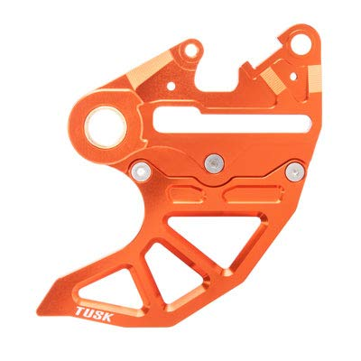 Rear Brake Caliper Support w/Brake Disc Guard Orange for KTM 300 XC-W Six Days 2014-2018