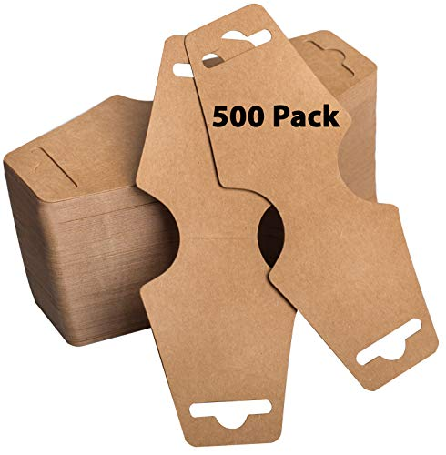 500 Necklace Display Cards - Jewelry Display Cards - Bracelet Display Cards - Choker Display Cards - Bulk 500 Pack