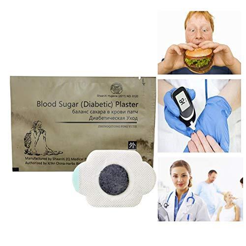BOBORA 1 stück Brown Hypoglykämie Pflaster Diabetiker Patch Niedrigen Bluthaushalt Glukose Pflaster Diabetes Pads, Pure Natural Herbal Diabetes Aufkleber