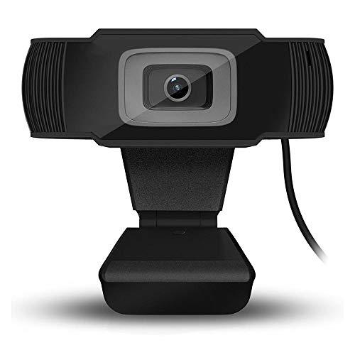 Gycdwjh HD Webcam,Autofocus Cámara Web 1920 * 1080 Cámara HD Webcams USB Plug and Play Utilizado para Videoconferencia Chat Remoto Enseñanza Remota Etc