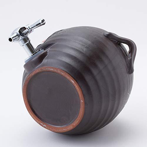 Saikaitoki(西海陶器)『波佐見焼マルチサーバー黒陶釉吹柄』