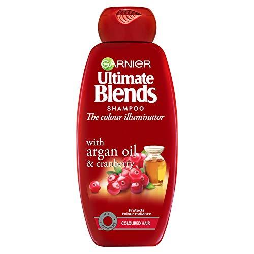 Garnier Ultimate Blends Argan Oil & Cranberry Shampoo For Coloured Hair 360ml