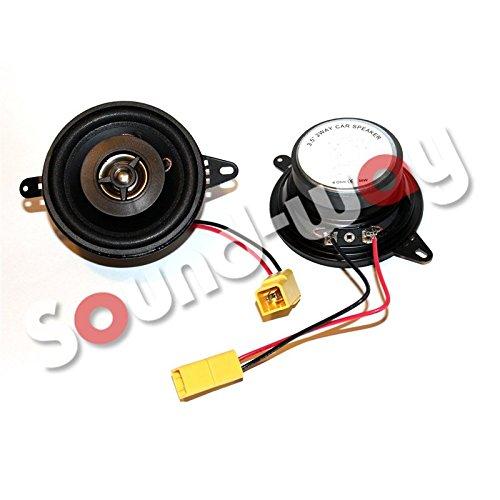 Sound Way - Altoparlante su misura, 8,7 cm, per Fiat Punto 1