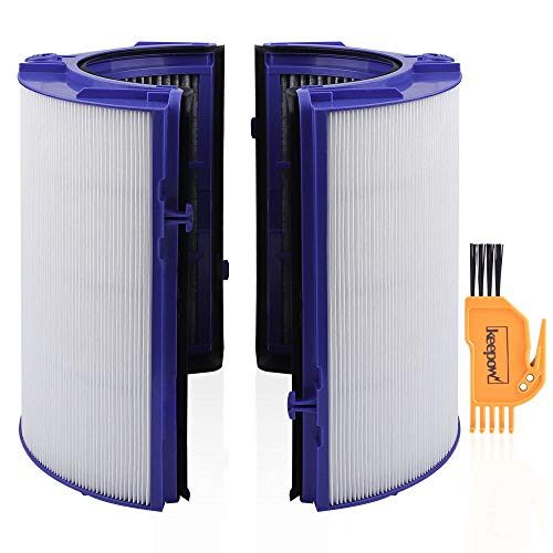 KEEPOW HEPA Filter Replacement Compatible with Dyson TP06 HP06 PH01 PH02 Air Purifier, Compare to Part # 970341-01
