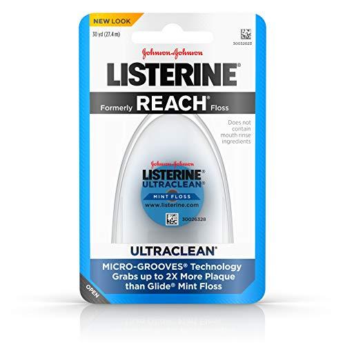 Listerine Ultraclean Zahnseide, 27,8 m (6 Stück)