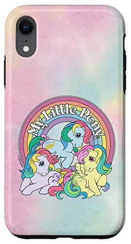 iPhone XR My Little Pony Retro Rainbow Case